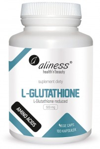 ALINESS L-GLUTATHIONE REDUCED 500mg 100 kapsułek